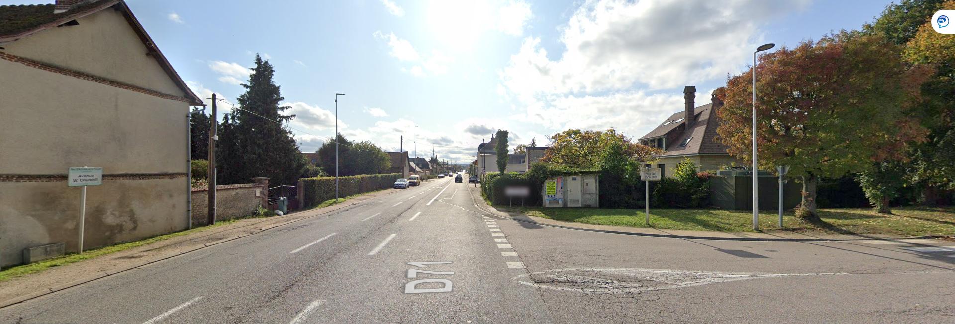 6 mois de déviation avenue W. Churchill à Louviers