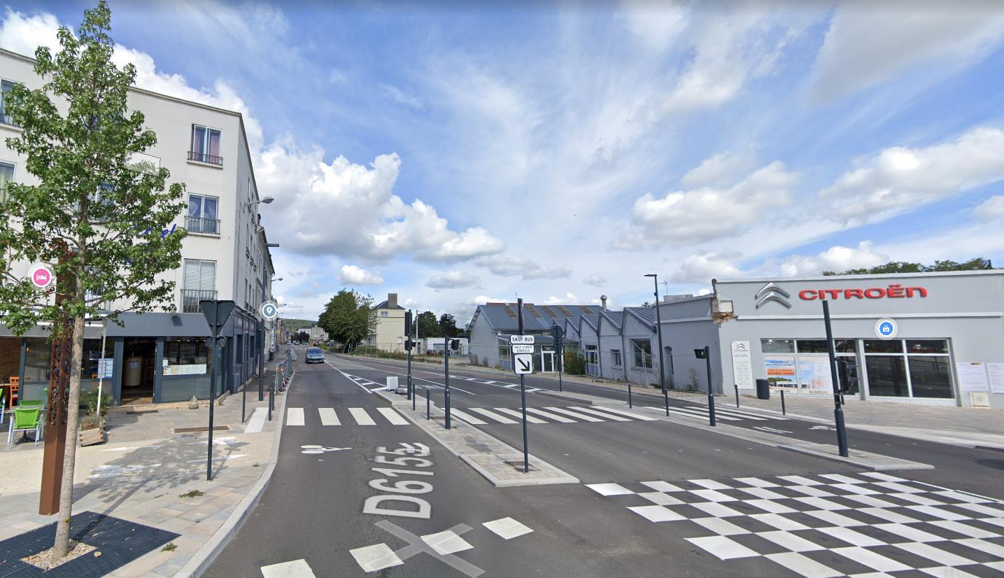 Travaux nocturnes rue du 11 novembre à Louviers